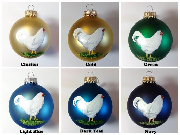 Chantecler Ornament Colors