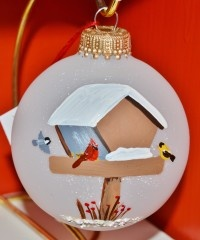 Bird Feeder Ornament