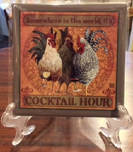 Cocktail Hour Chicken Tile
