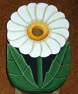 Daisy Flower Birdhouse