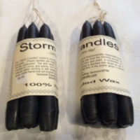 "Storm Candle Bundle - Hand Dipped 6"" Taper Candles"