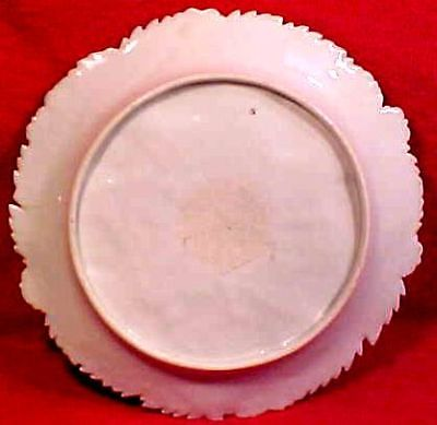 Strawberry Plates - Early Porcelain (Set of 4)