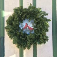Cardinal Wreath Tin