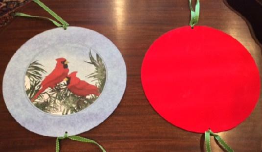 Cardinl Wreath Tin