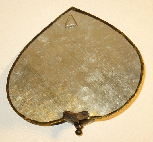 Mirrored Brass Sconce
