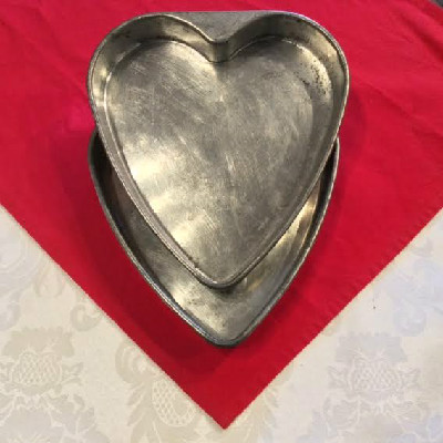 Double Layer Heart Shaped Cake Pans