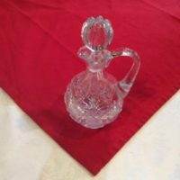 American Brilliant Cut Glass Cruet