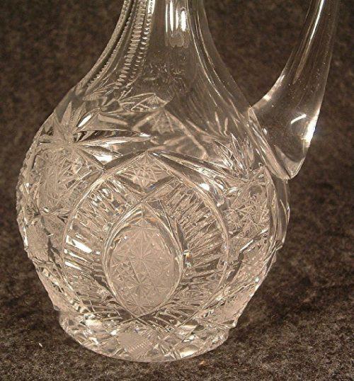 American Brilliant Cut Glass Cruet