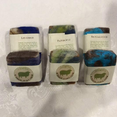 Artisan Made Felted Soaps