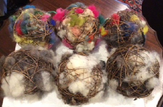 Bird Nesting Balls / Ornaments
