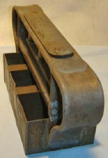 c. 1890-1910 metal industrial bakery and/or ice cream plunger cutter.