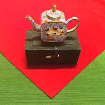 Kelvin Chen Style – Enamel Copper Cloisonne Tea Pot –