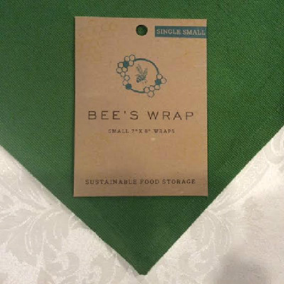 "BEE'S WRAP - Single Small Wrap - 7"" x 8"""