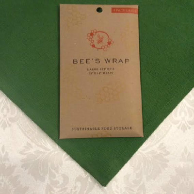 "BEE'S WRAP – Large Wrap – SET of 3 -- 13"" x 14"""