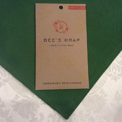 "BEE'S WRAP – Single Large Wrap – 13"" x 14"""