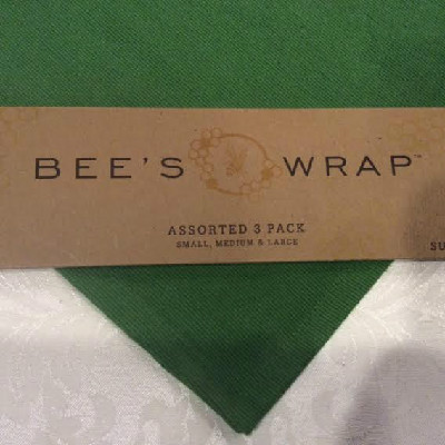 BEE'S WRAP -- Assorted Set Of 3 Sizes -- Small, Medium, Large