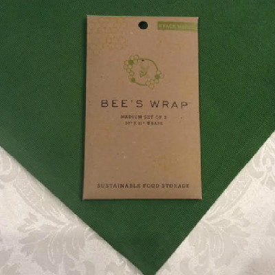 "BEE'S WRAP – Medium Wrap - SET of 3 – 10"" x 11"""