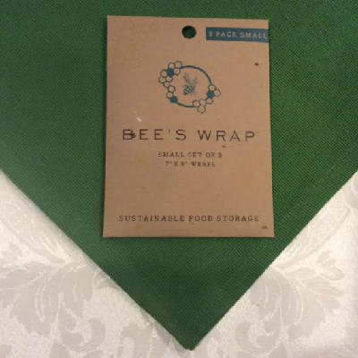 "BEE'S WRAP – Small Wrap – SET of 3 - 7"" x 8"""