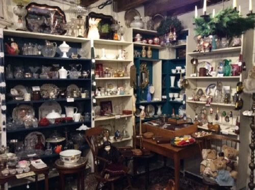 Our goal is to maintain and present an unusual and eclectic selection of antiques — Many fresh from Vermont attics. A beautiful & useful piece from the past makes a great gift. You don't have to be a collector of Antiques! Antiques are GREEN gifts.