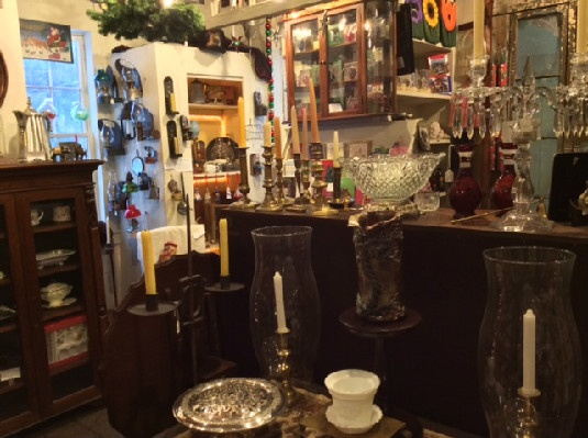 We have a special love for kerosene and candle lighting! Our goal is to maintain and present an unusual and eclectic selection of antiques — Many fresh from Vermont attics. A beautiful & useful piece from the past makes a great gift. You don't have to be a collector of Antiques! Antiques are GREEN gifts.