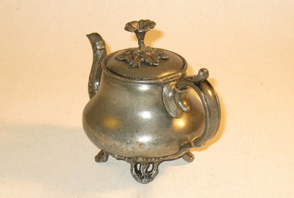 Pewter Teapot - 19th Century - James Dixon & Sons Pewter Mark