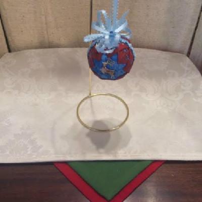 M#1 – Red & Blue w/ Deer – $16.50
