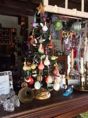 Shops at Fayrehale Gourd Ornaments