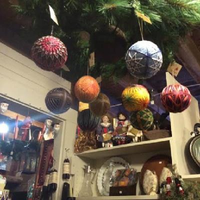 Shops at Fayrehale Temari Ornaments