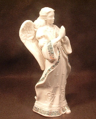 """Angel Of Love"" - Lenox China Jewels Collection - 1996 - Made in USA"