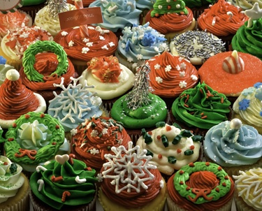 10.) – Christmas Cupcakes – This fun, colorful collage will provide hours of entertainment. (1000 pieces and measures 24? x 30?)