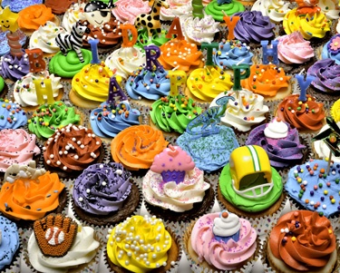 12.) – Birthday Cupcakes – This colorful jigsaw puzzle collage will leave your mouth watering! A perfect birthday gift idea. (1000 pieces and measures 30? x 24?)