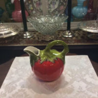 Tomato Pitcher - Large - Vintage - Made In Italy