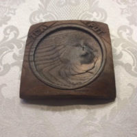 Treen Teapot Trivet c. 1870 - Unusual - Hand Carved