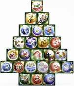 7.) — O Christmas Tree Treasure Box Advent Calendar ($24.95)