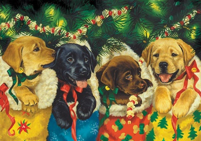 1.) — Puppies Advent Calendar ($4.95)