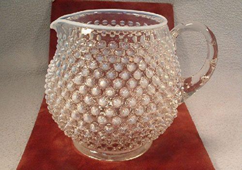 Fenton Art Glass - French Opalescent Glass - Hobnail Pattern - 32 Oz. Pitcher - Vintage - (1956-1968)