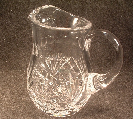 Galway Cut Glass - 7 Inch Tall Pitcher - Irish Crystal