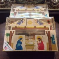Nativity Block Set - 1yo & Up - Made in Vermont!