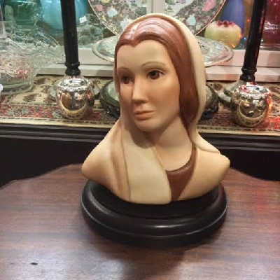 1980 Goebel - Figurine / Bust of Mary Magdalene by Helen Granger Young - Vintage