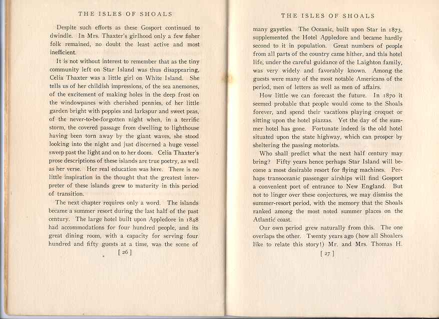 The Story of the Isles of Shoals, Pages 26-27