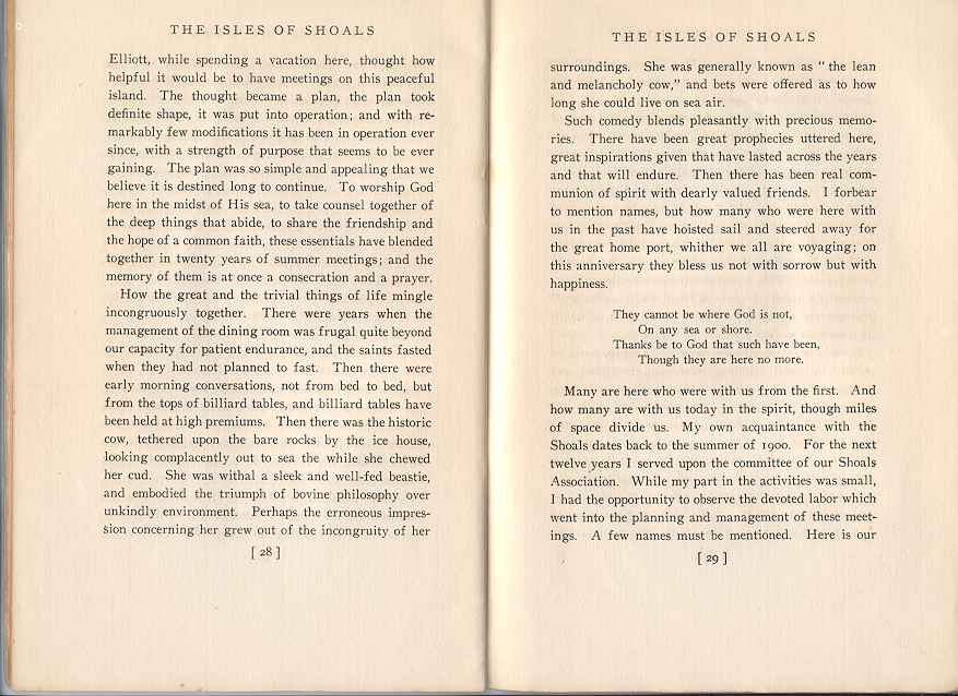 The Story of the Isles of Shoals, Pages 28-29