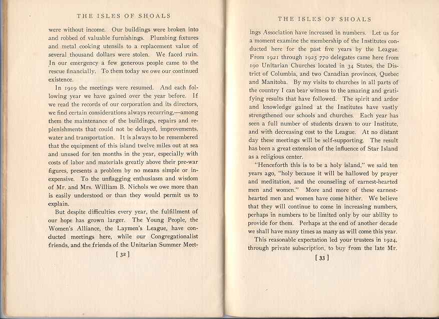The Story of the Isles of Shoals, Pages 32-33