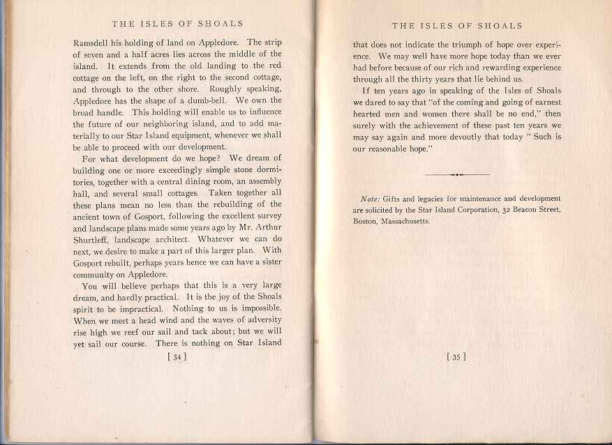 The Story of the Isles of Shoals, Pages 34-35
