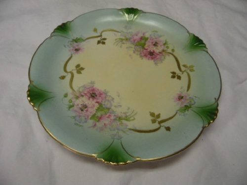 Hand Painted Charger / Plate - Unmarked Bavaria / Germany