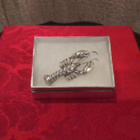 Lobster Pin / Brooch - 1940s Danecraft Sterling