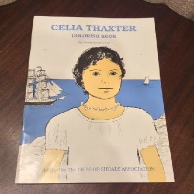 Celia Thaxter Coloring Book by Donna Marion Titus