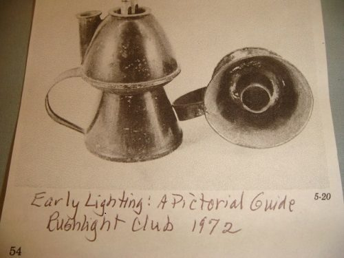 Large Petticoat Double Wick Whale Oil Lamp - c. 1860 W/ Orig Asphalta Finish