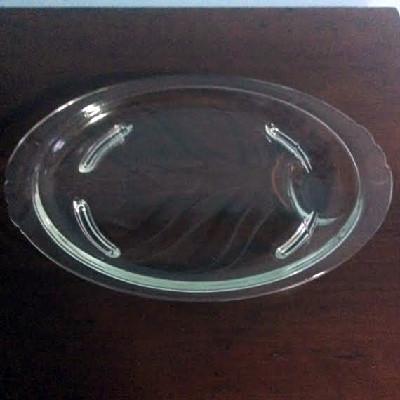 Silver Bain-Marie w/ Pyrex Footed Platter - W&S Blackinton Co. - Meriden CT - Downton Abbey Elegance