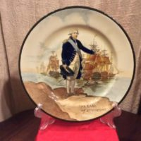 Royal Doulton Plate - The Earl of St. Vincent Portrait Plate - Vintage China