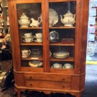 19th c. Corner Cupboard - Perfect Size For A Smaller Home!
